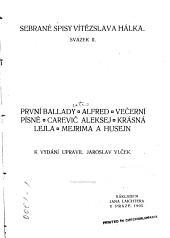 Sebrané spisy: První ballady