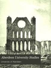 Aberdeen University Studies: Volume 35