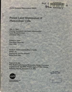 Pulsed Laser Illumination of Photovoltaic Cells PDF