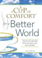 A Cup of Comfort for a Better World PDF