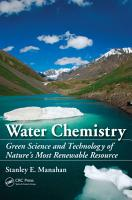 Water Chemistry PDF