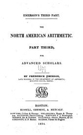 The North American arithmetic: Part third, for advanced scholars, Part 3