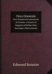 Flora Orientalis