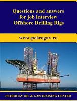 Questions and answers for job interview Offshore Drillings Rigs PDF