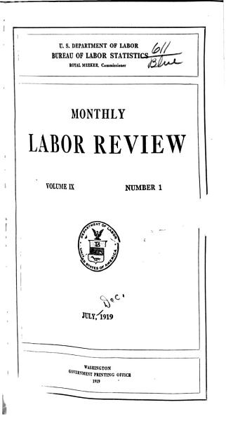 Download Monthly Labor Review Book