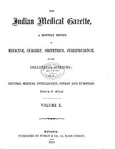 The Indian Medical Gazette PDF