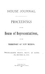 House Journal: Proceedings