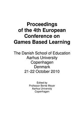 ECGBL2009  4th European Conference on Games Based Learning PDF
