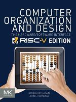 Computer Organization and Design RISC V Edition PDF