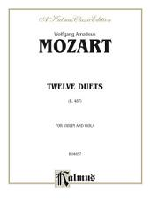 Twelve Duets, K. 487: For Violin and Viola