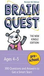 Brain Quest Preschool PDF