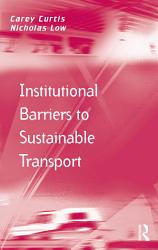 Institutional Barriers to Sustainable Transport PDF