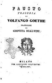 Fausto tragedia di Volfango Goethe