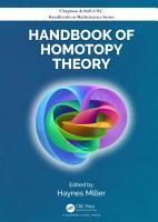Handbook of Homotopy Theory PDF