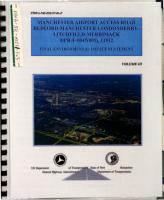 Manchester Airport Access Road Highway Improvement Project PDF