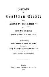 Jahrbücher des Deutschen Reiches unter Heinrich IV. und Heinrich V.