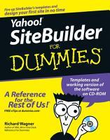 Yahoo  SiteBuilder For Dummies PDF