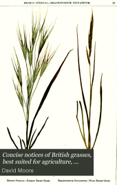 Concise notices of British grasses, best suited for agriculture, with preserved specimens