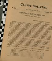 Census Bulletin: Issue 212; Issue 230; Issue 251; Issue 315