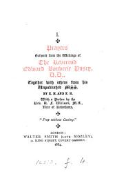 Prayers gathered from the writings of ... Edward Bouverie Pusey, by E.H. and F.H. 1