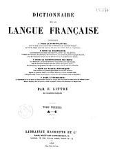 Dictionnaire de la langue française: Volumes1à4
