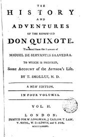 The History and Adventures of the Renowned Don Quixote,2