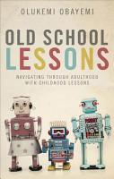Old School Lessons PDF