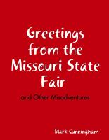 Greetings from the Missouri State Fair and Other Misadventures PDF