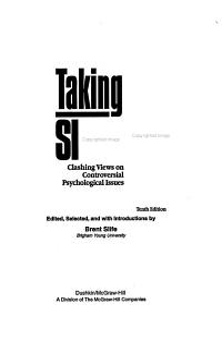 Taking Sides PDF