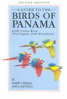A Guide to the Birds of Panama PDF