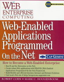 Web enabled Applications Programmed on the Net PDF