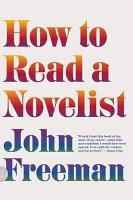 How to Read a Novelist PDF