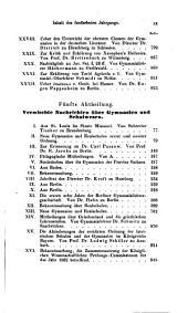 Zeitschrift für das Gymnasialwesen: im Auftrage und Mitwirkung des Berlinischen Gymnasiallehrer-Vereins, Band 15