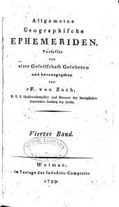 Allgemeine geographische Ephemeriden: Band 4