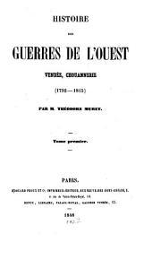Histoire des guerres de l'ouest Vendée, Chouannerie (1792 - 1815)
