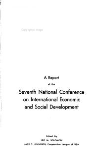 Highlights of the     Annual Meeting of the National Conference on International Economic and Social Development PDF