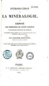 Introduction à la minéralogie