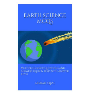 Earth Science Multiple Choice Questions and Answers  MCQs  PDF