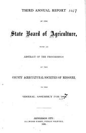 The Missouri Yearbook of Agriculture: Annual Report, Volume 3