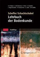 Scheffer Schachtschabel  Lehrbuch der Bodenkunde PDF