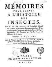 Mémoires pour servir à l'histoire des insectes...