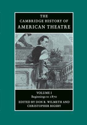 Download The Cambridge History of American Theatre Book