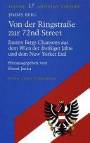 VON DER RINGSTRABE ZUR 72ND STREET, JIMMY BERGS CH