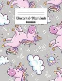 Unicorn & Diamonds Notebook