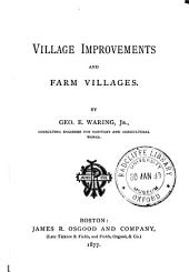 Village Improvements and Farm Villages