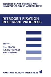 Nitrogen fixation research progress: Proceedings of the 6th international symposium on Nitrogen Fixation, Corvallis, OR 97331, August 4–10, 1985