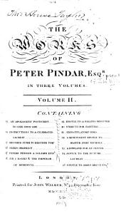 The Works of Peter Pindar: Volume 2