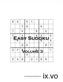 Easy Sudoku Volume 3