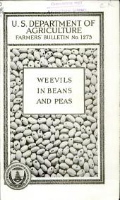 Weevils in beans and peas