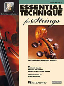 Essential Technique for Strings   Cello Book